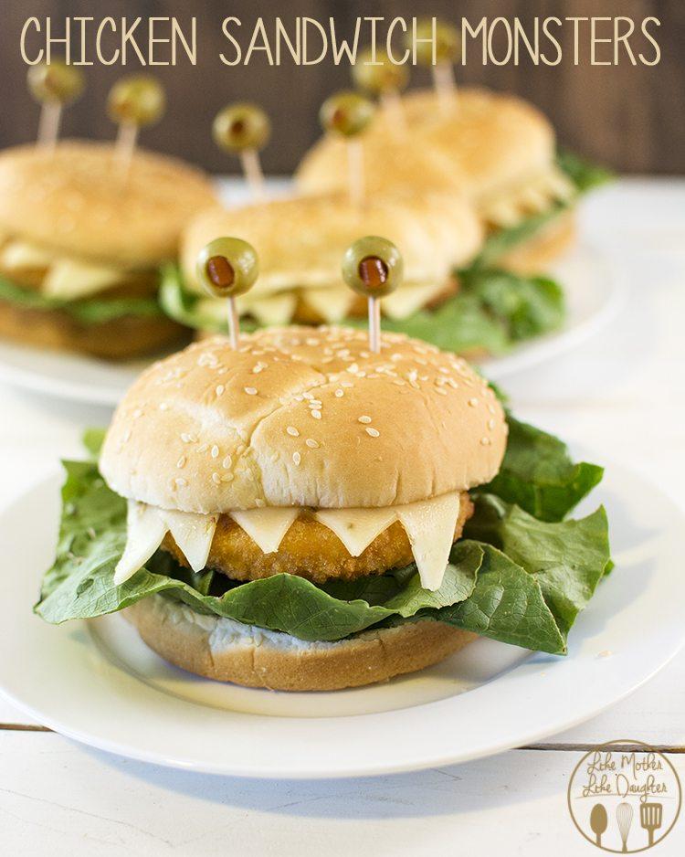 chicken sandwich monsters