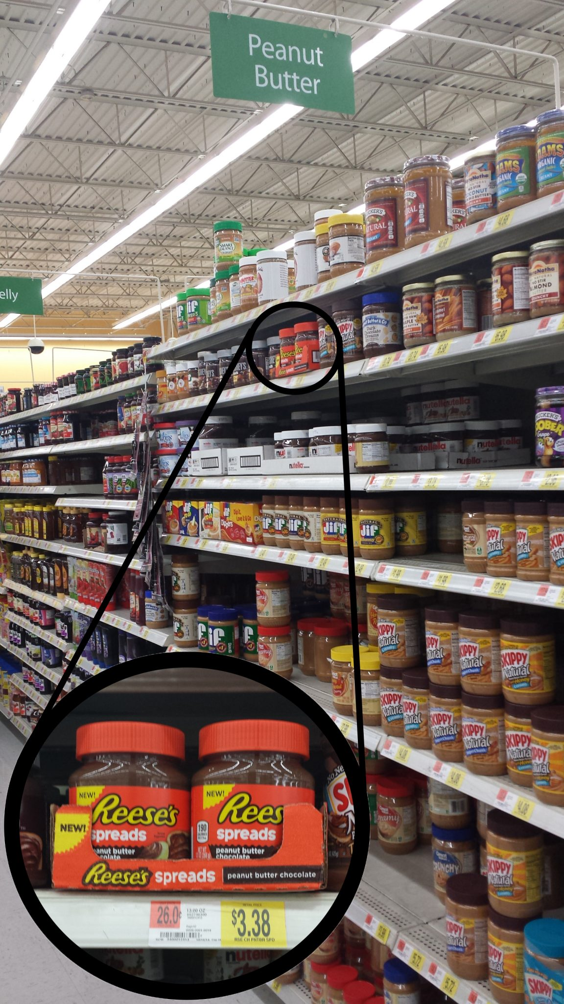 reeses aisle