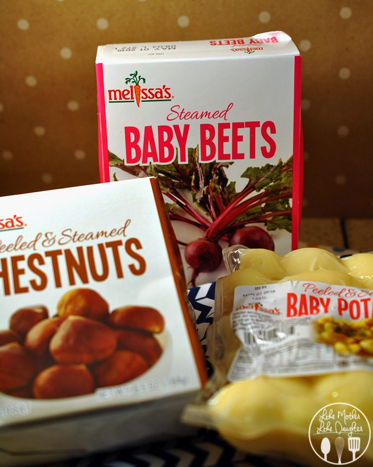 Skillet Potato Beet Chesnut