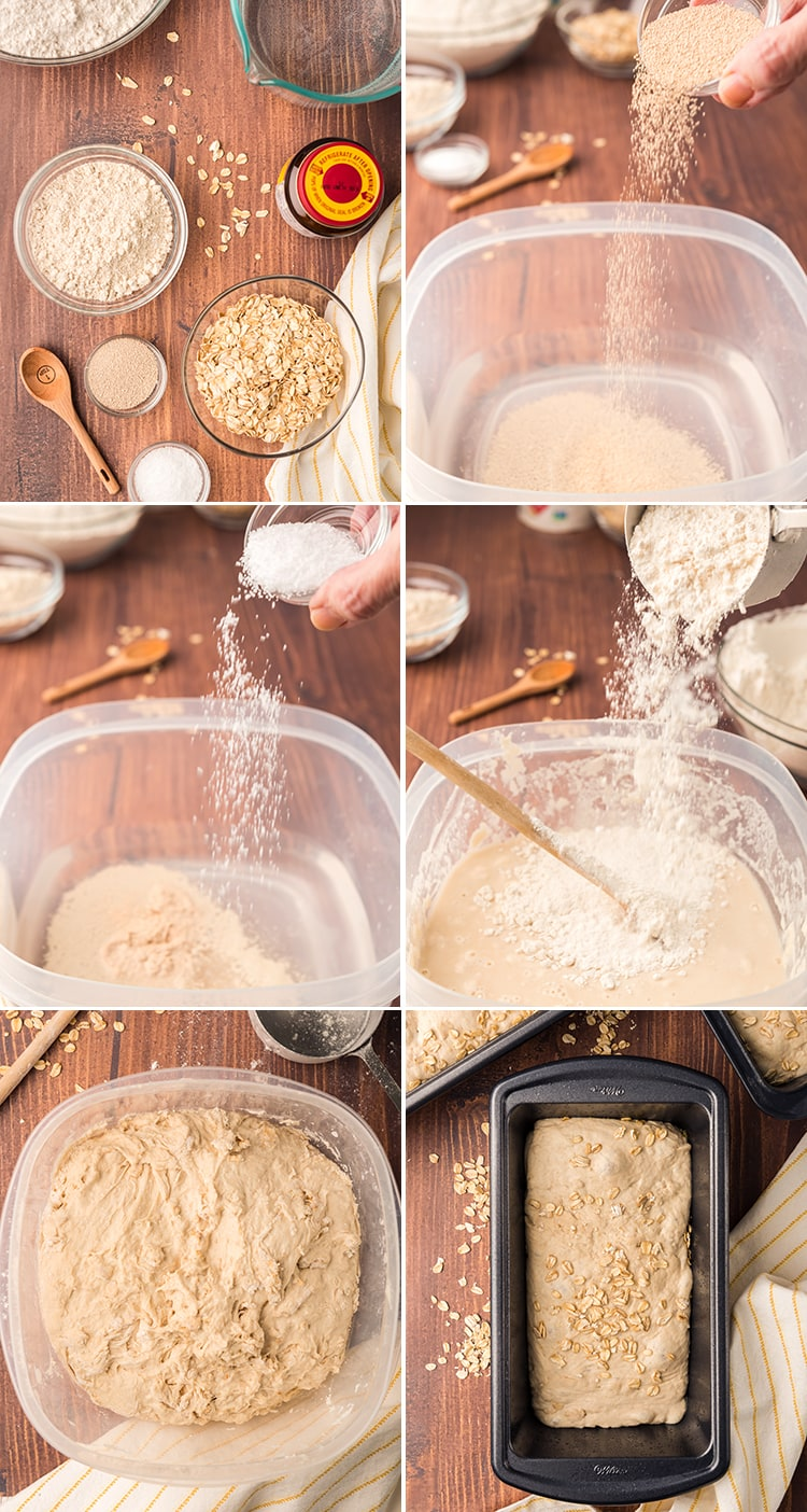How to make an oat bread recipe