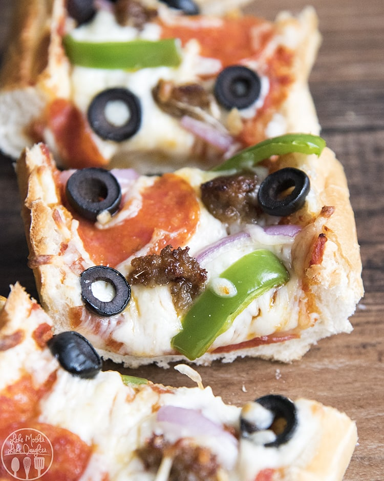 How to make french bread pizza