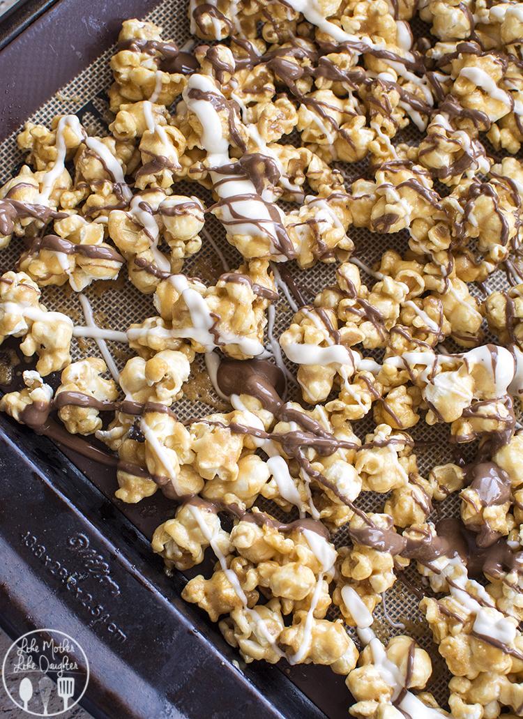 zebra caramel popcorn 1