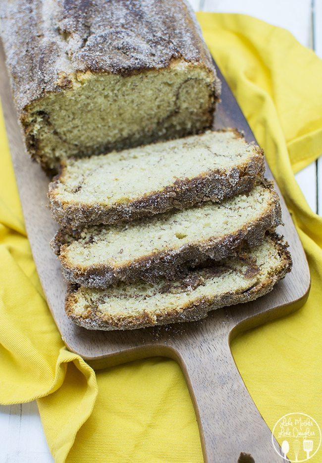 cinnamon sugar banana bread 2