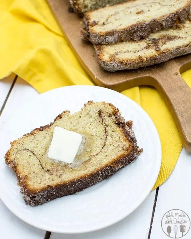 cinnamon sugar banana bread 4