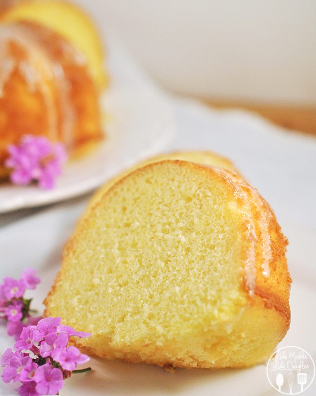 Lime Bundt Cake - This moist cake is full of fresh lime flavor and topped with a delicious lime glaze!