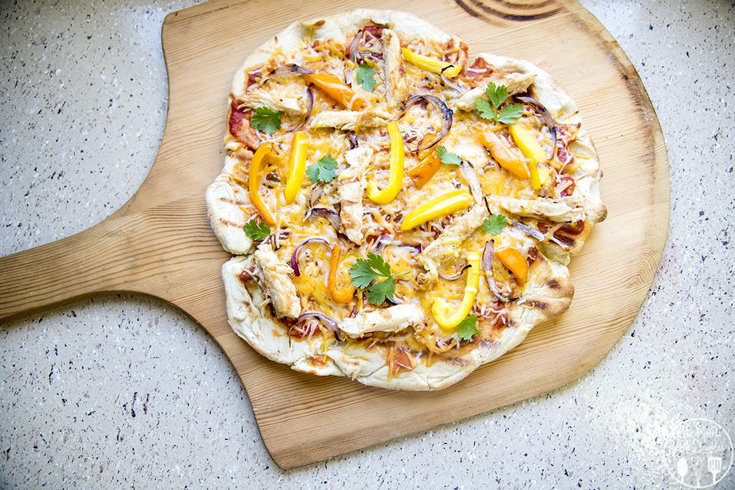 chicken fajita pizza 5