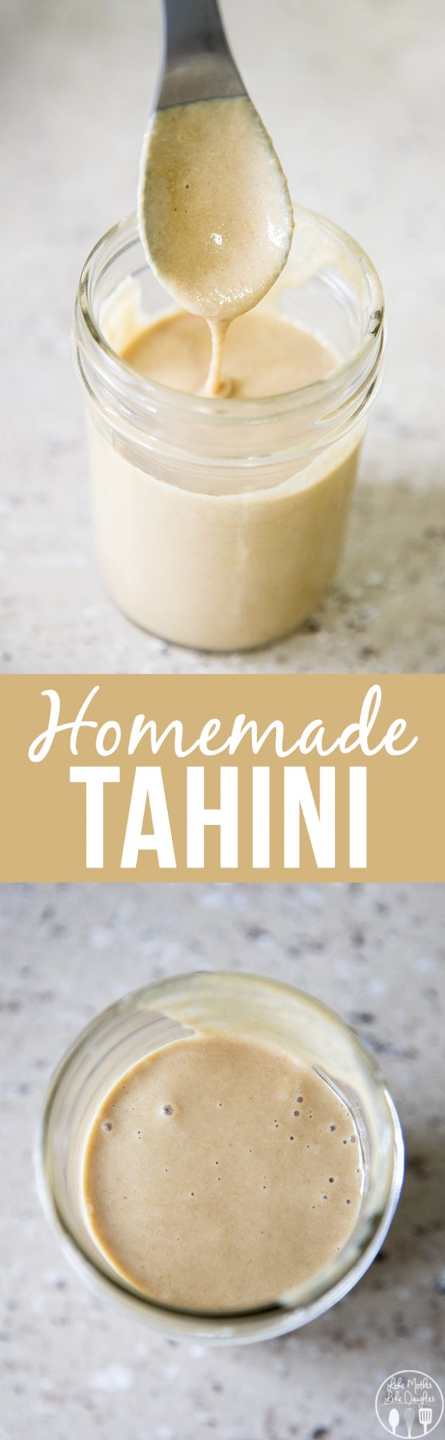 This homemade tahini is only 2 ingredients and only takes about 8 minutes to make and its perfect for use in many recipes, especially homemade hummus!