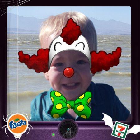 fanta clown