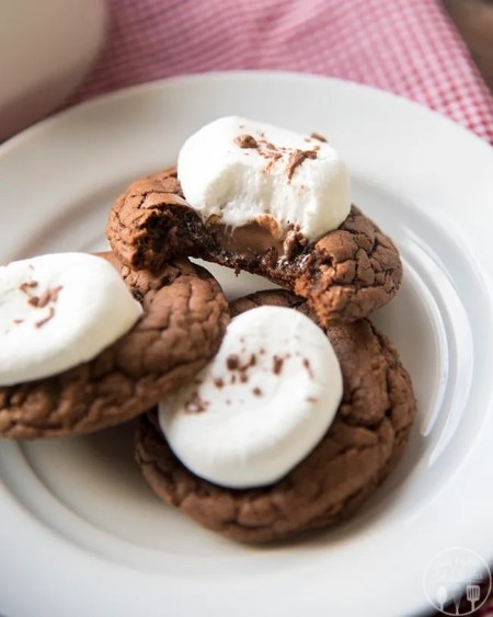 hot chocolate cookies 6