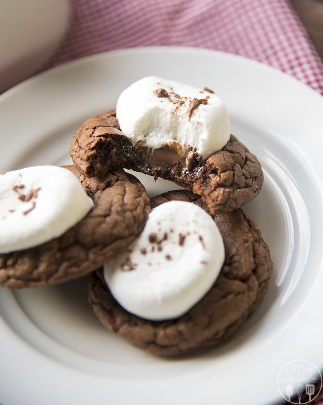 Hot Chocolate Cookies Like Mother Like Daughter