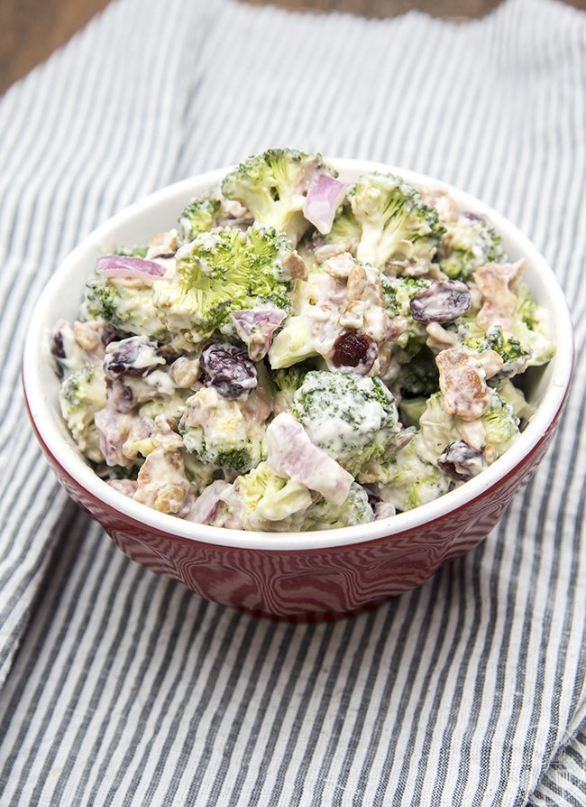Creamy Broccoli Salad Like Mother Like Daughter