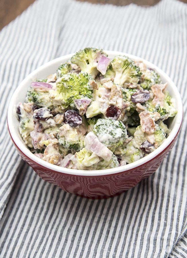 Creamy Broccoli Salad Like Mother Like Daughter