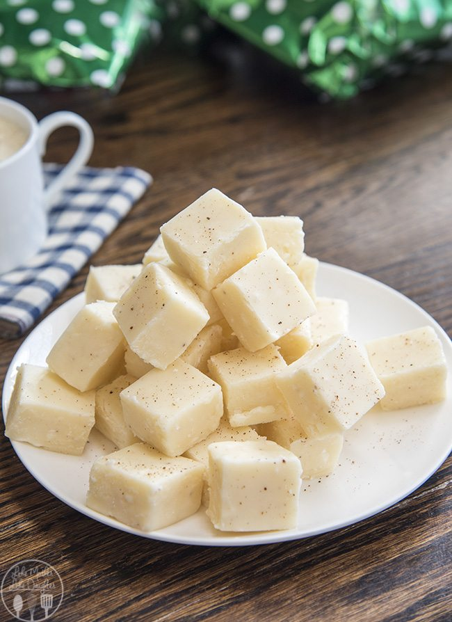 Eggnog Fudge Recipes has the great taste of your favorite holiday beverage. Its the perfect holiday candy that everyone loves
