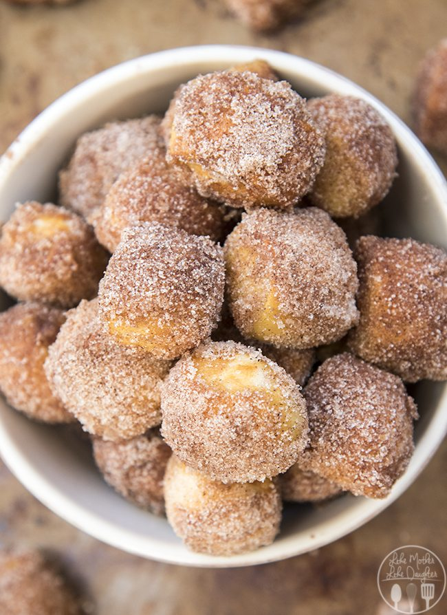 Cinnamon Sugar Soft Pretzel Bites Lmldfood