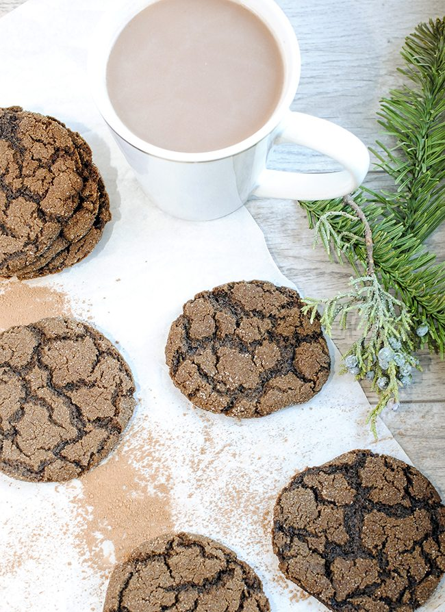 Mexican hot chocolate cookies - These mexican hot chocolate cookies have a tasty zing, with a burst of flavor from cayenne pepper, cinnamon and chocolate! A great way to warm up when it is cold.