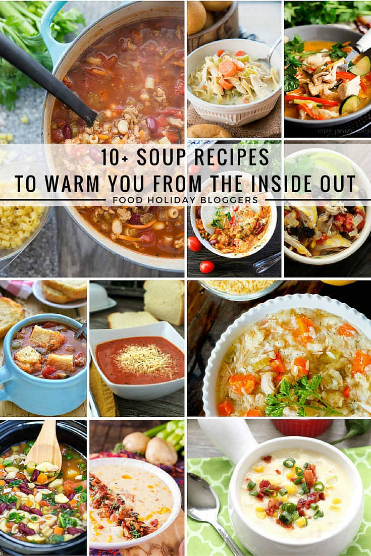 Copy of 10+ Recipes for the Soup Lover
