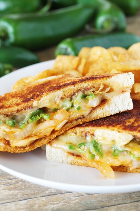 Ultimate Spicy Grilled Cheese 3
