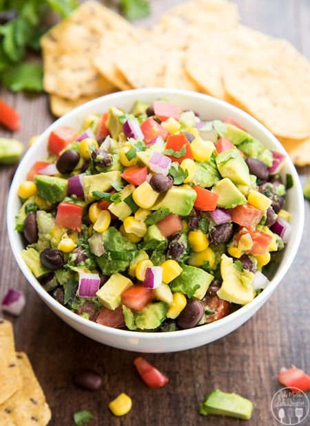 corn and black bean guacamole 9