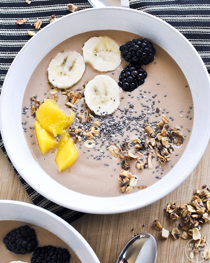 chunky monkey smoothie bowl 2