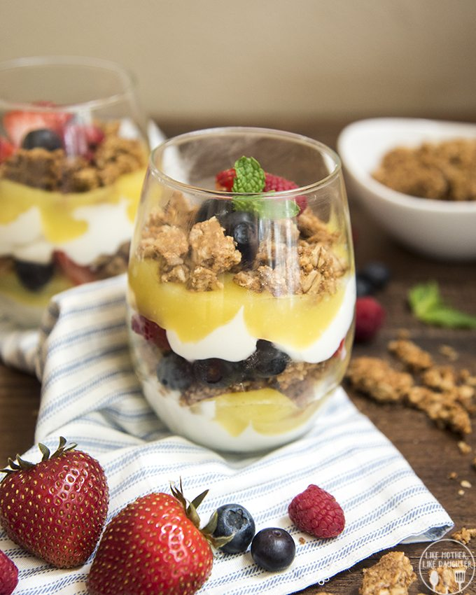 lemon curd and berry parfaits 3
