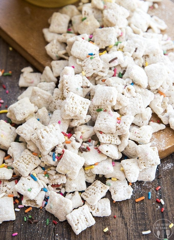 Stupendous Cake Batter Muddy Buddies Like Mother Like Daughter Funny Birthday Cards Online Chimdamsfinfo