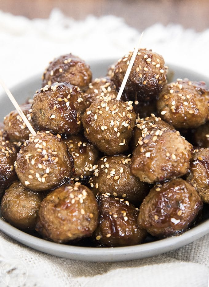 This easy teriyaki meatballs recipe is for an easy to die for flavorful sauce. Great served as an appetizer or over rice as a main dish!