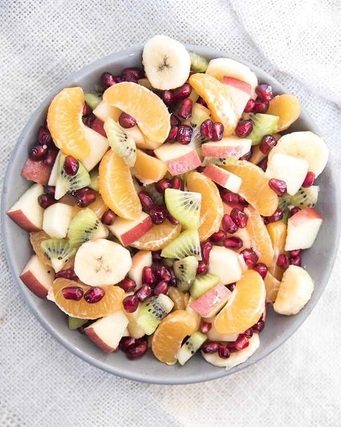 Pomegranate Fruit Salad