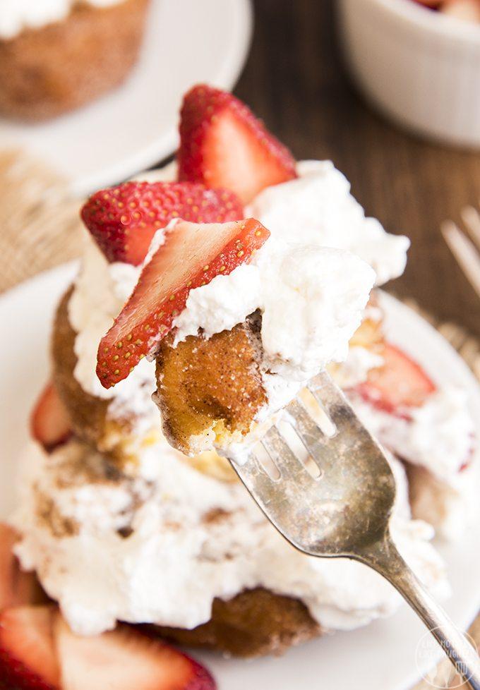 deep fried strawberry shortcakes 7