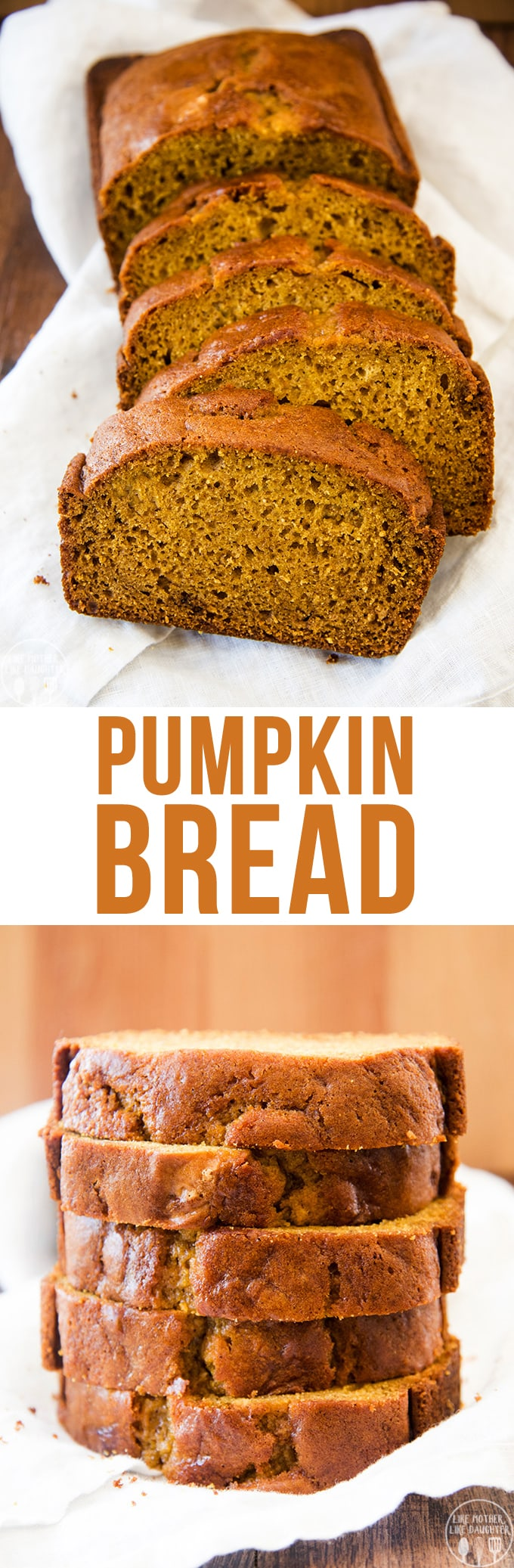 Pumpkin Bread is a perfectly spiced fall favorite, packed full of cinnamon, and pumpkin flavors in a moist, rich and delicious bread.