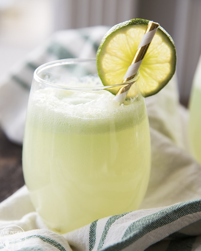 lime green sherbet punch recipe