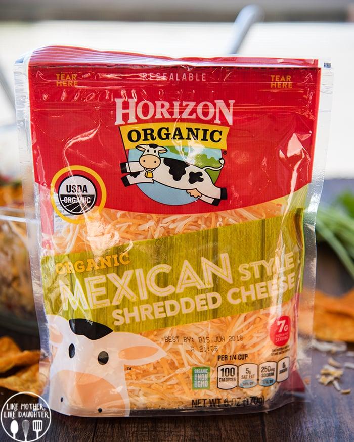 Horizon Organic Mexican Cheese