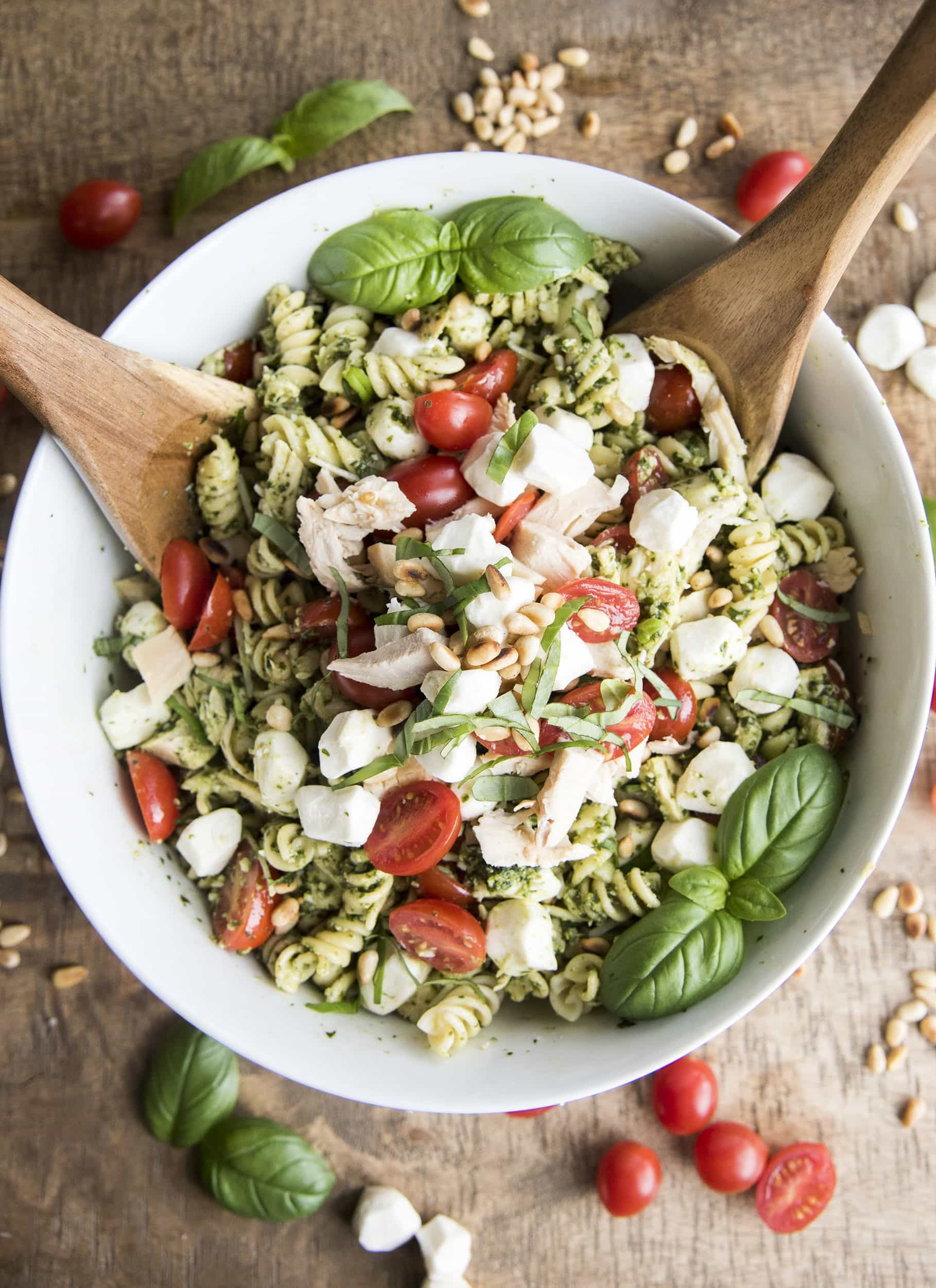 Cold Pesto Pasta Salad