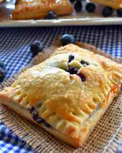 For the blueberry pie lovers we have handheld blueberry pies with a perfectly flaky crust and sweet real blueberry filling just for you. You are going to love it!