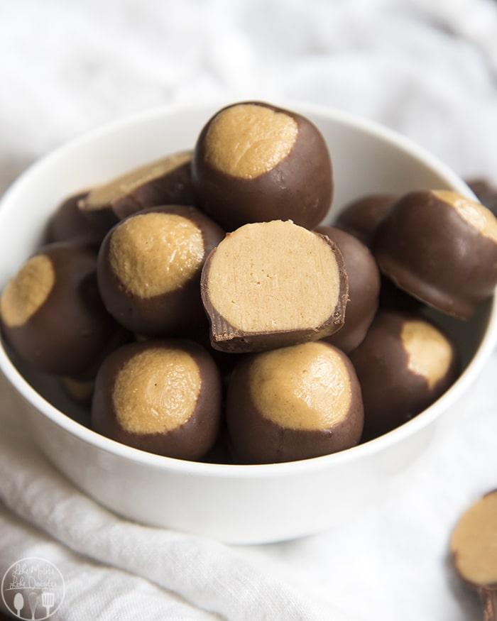 Buckeye Peanut Butter Balls
