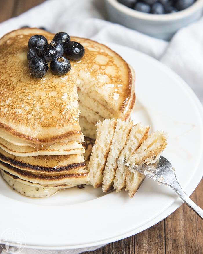Creamy Ricotta Pancakes