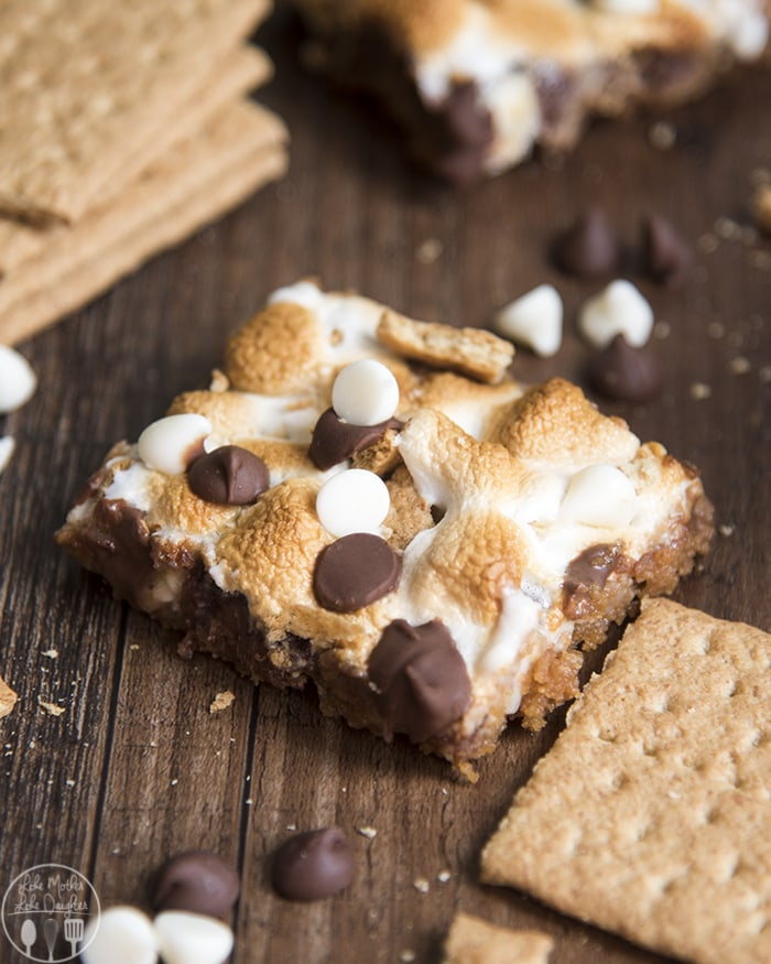 S'mores Magic Bars