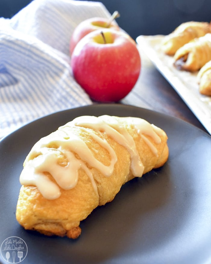 Apple Pie Filling Crescent Rolls