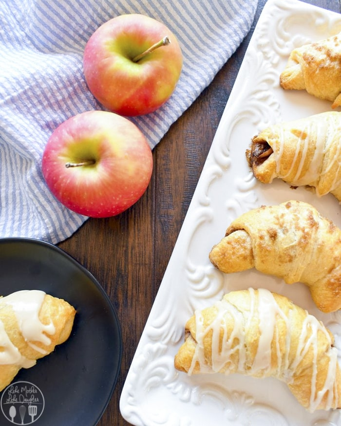 Crescent Roll Apple Pies
