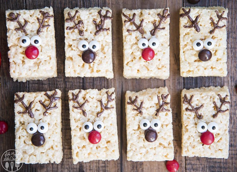 Reindeer Rice Krispie Treats