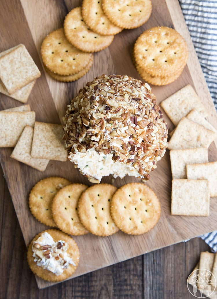 This classic cheese ball is the perfect appetizer