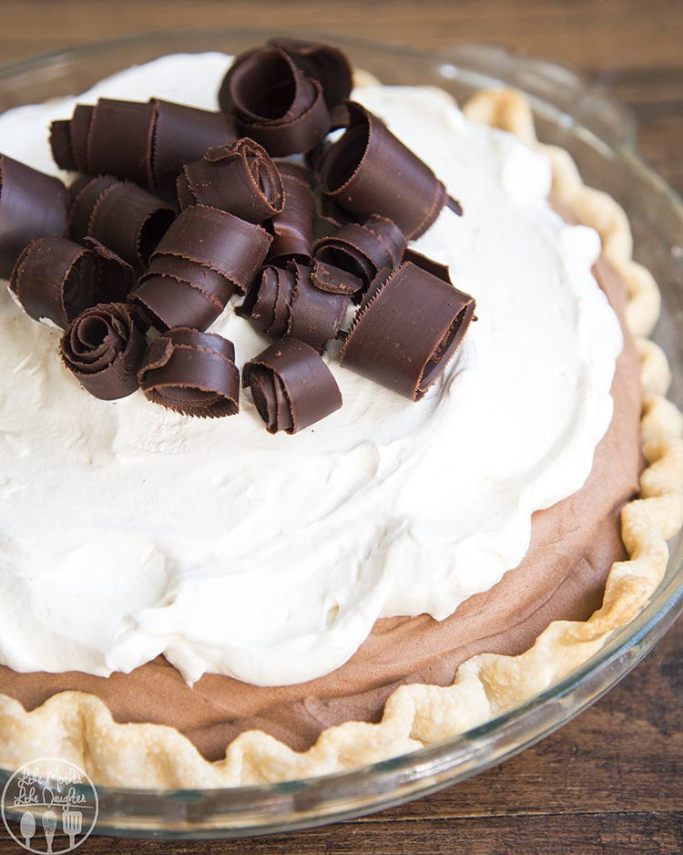 French Silk Chocolate Pie