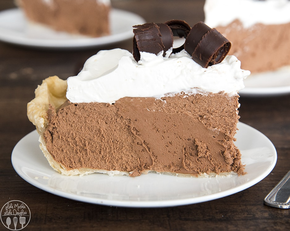 Chocolate Silk Pie Recipe is the best chocolate pie ever!