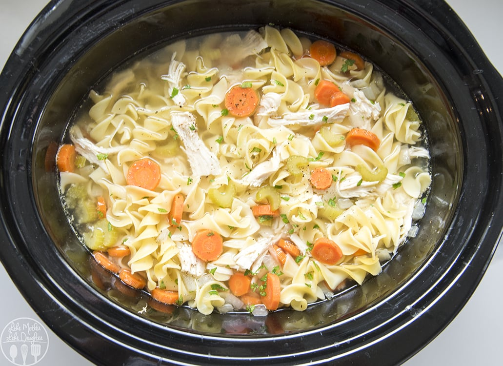Chicken noodle soup recipe slow cooker