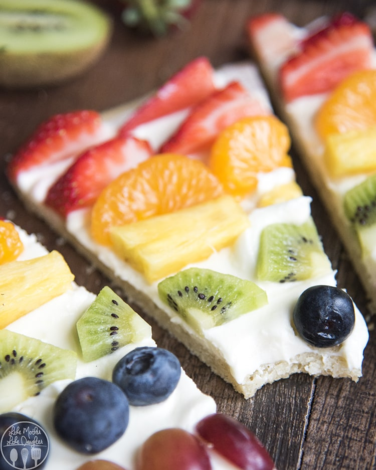 Rainbow Fruit Pizza Recipe