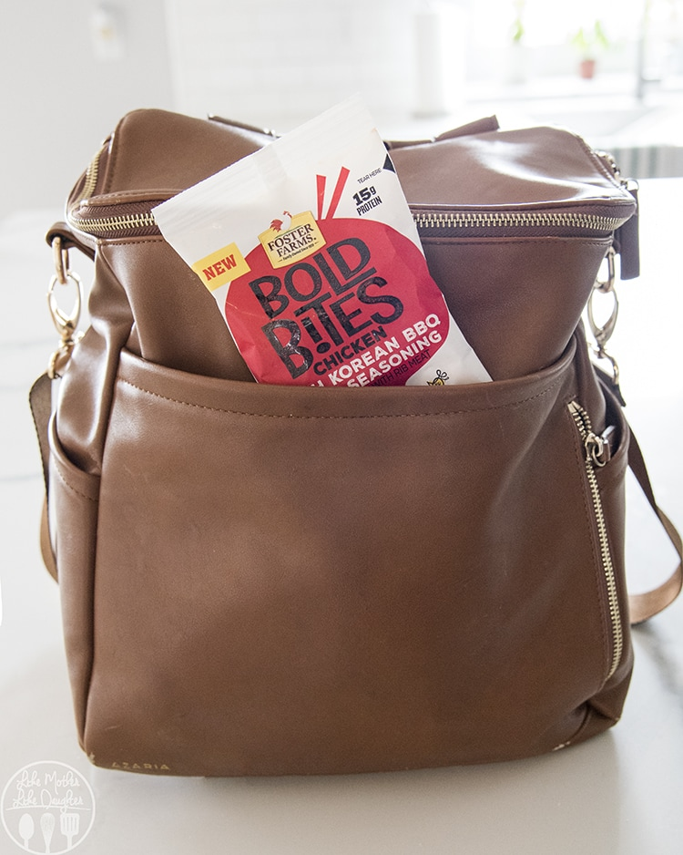 Foster Farms Bold Bites are the perfect on the go snack.
