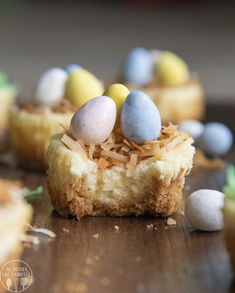 Easter Cheesecake with Cadbury Mini Eggs