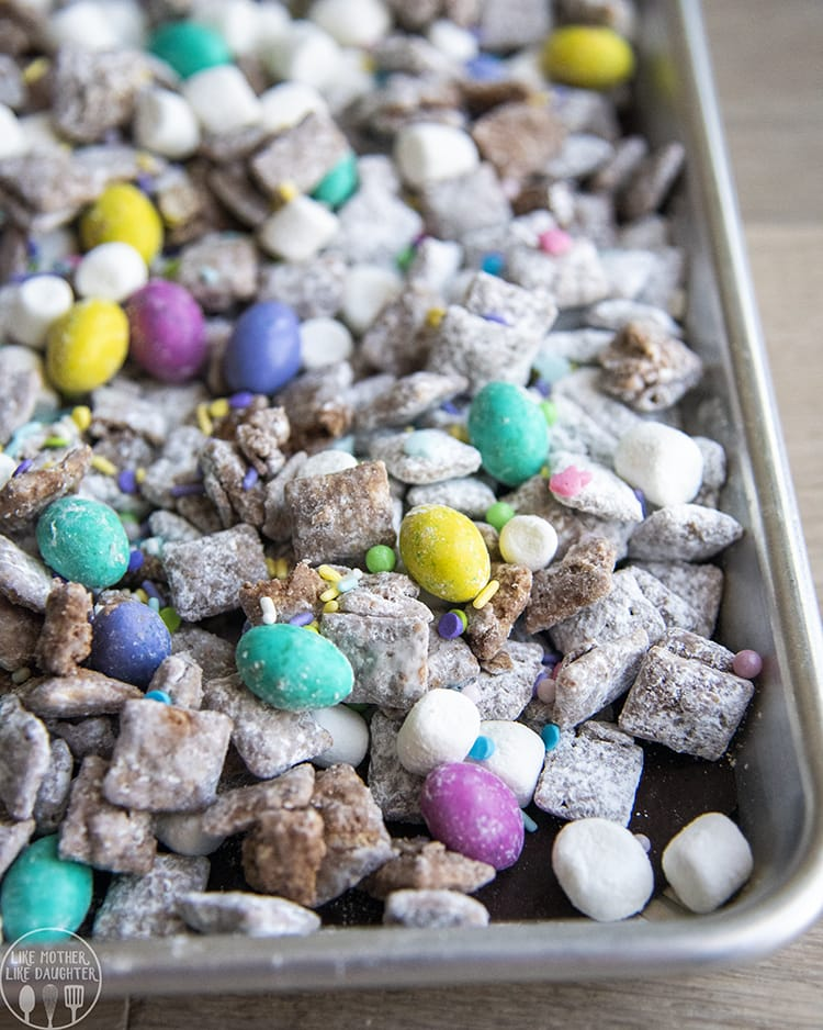 Easter Muddy Buddy Recipe