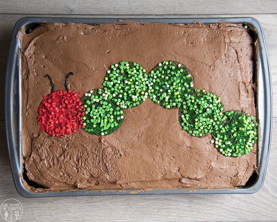 The Best Chocolate Cake Recipe - made in a 9x13 pan, anyone can make this cake!