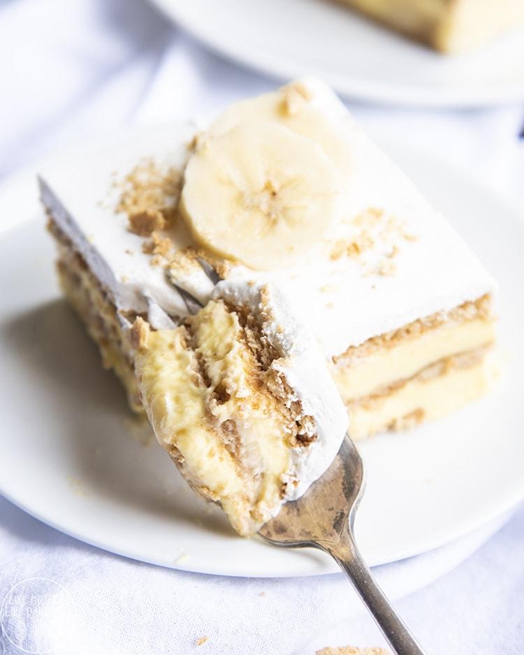 Banana Pudding Icebox cake is the best spring no bake dessert