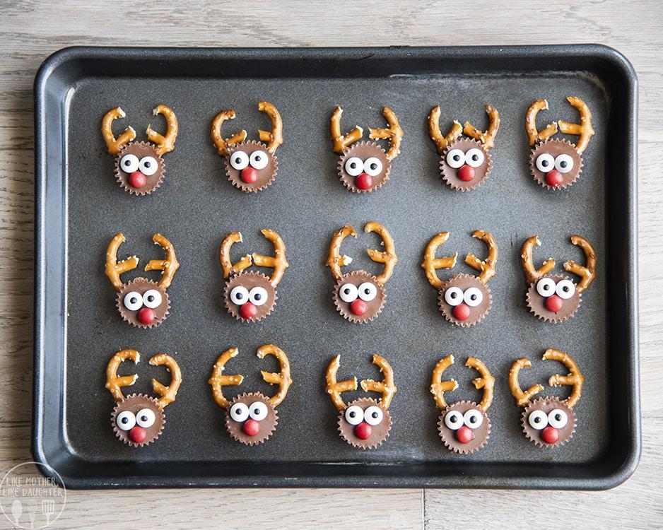 Reeses Cups Reindeer